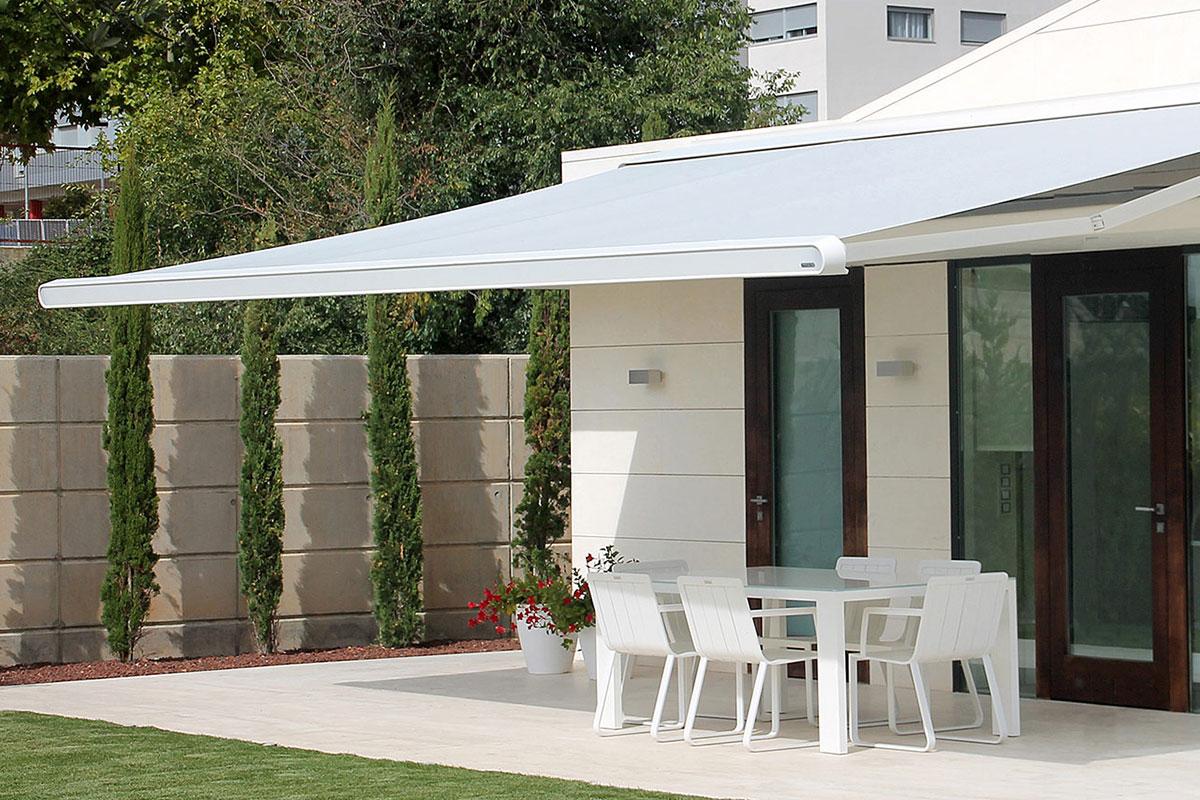 Moderne Markisen in futuristischem Design